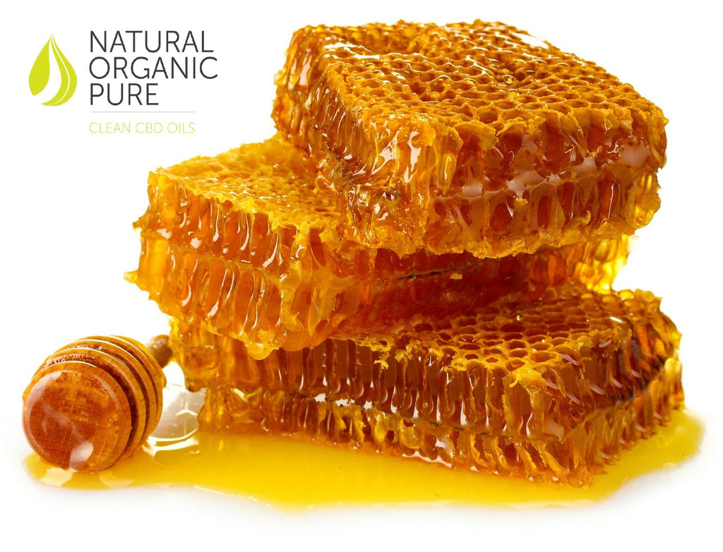 cbd honey | cbd agave | close up pile honeycomb | cbd oil infused honey | natural organic pure clean cbd oils