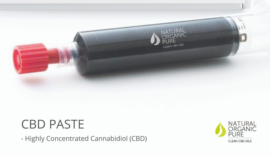 cbd paste close up of oral syryinge-nopcoils
