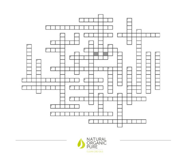 CBD fun crossword-nopc oils blog