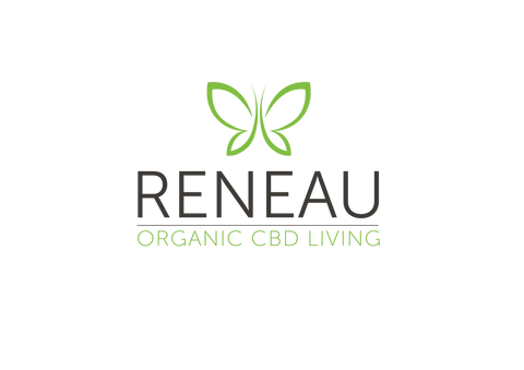 Reneau_Organic CBD Living logo_CBD Oils_combo setOrganic CBD Oil for health and well-being