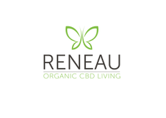 Reneau organic cbd living logo | natural organic pure clean cbd oil
