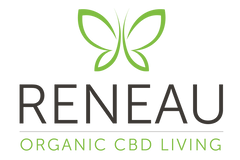 CBD bath bombs_reneau organic cbd living logo by natural organic pure clean cbd oils