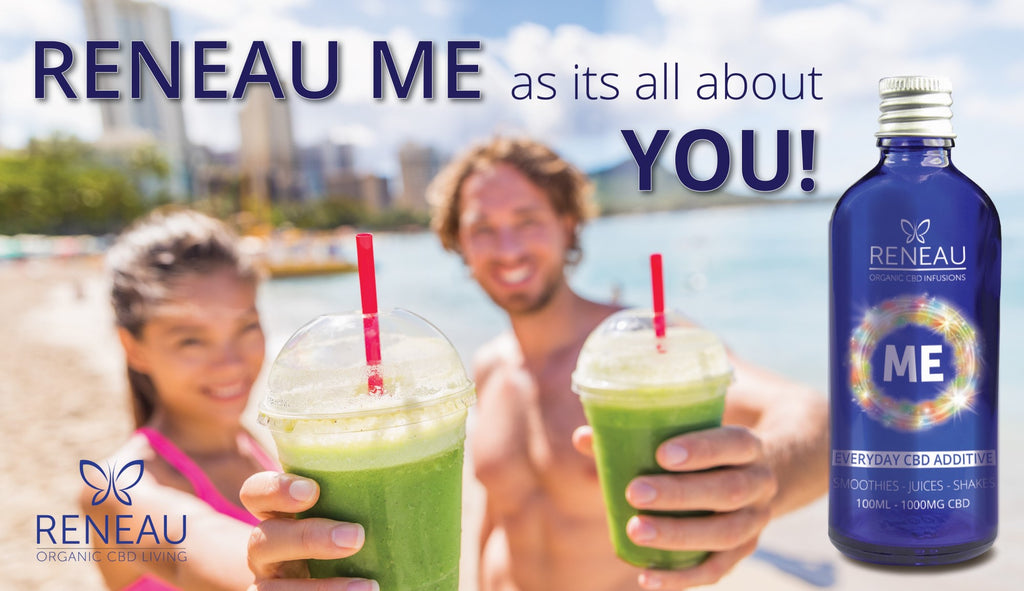 cbd smoothies-couple on beach with reneau me cbd smoothies-nopc oils