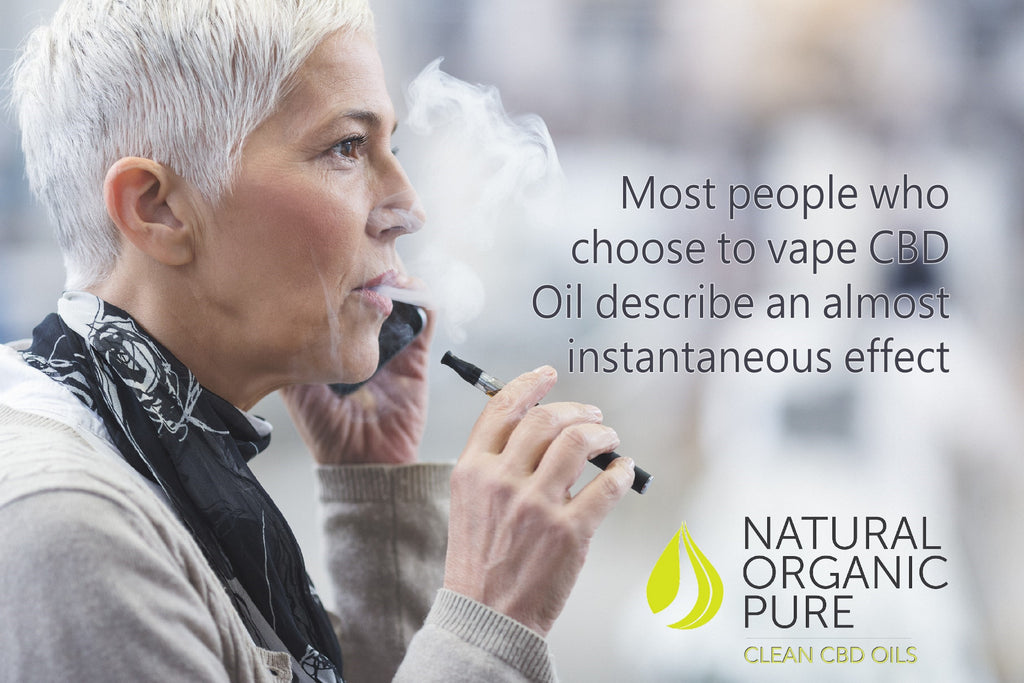 CBD vape liquid | cbd vape | senior woman with cbd vape pen | natural organic pure clean cbd oils