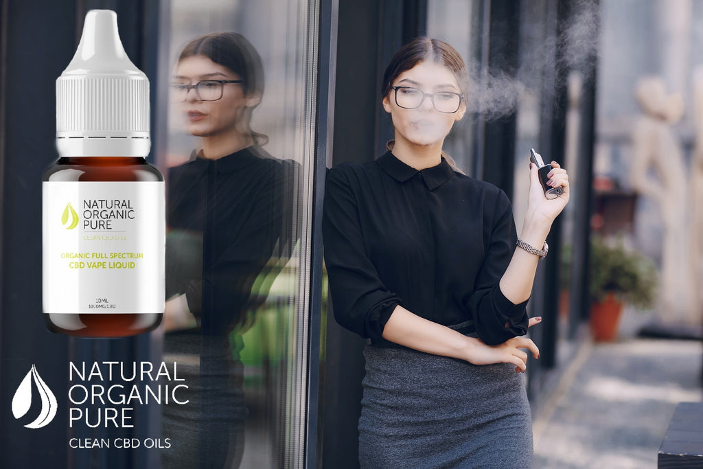 cbd oil | cbd vape liquid | smart working woman | vaping cbd oil | natural organic pure clean cbd oils