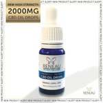 CBD Oil Tincture Drops | 2000MG high strength cbd oral drops-nopcoils