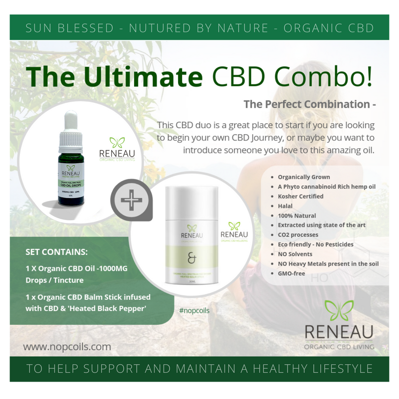 CBD Oil Combo | The Ultimate Cannabidiol CBD Combo