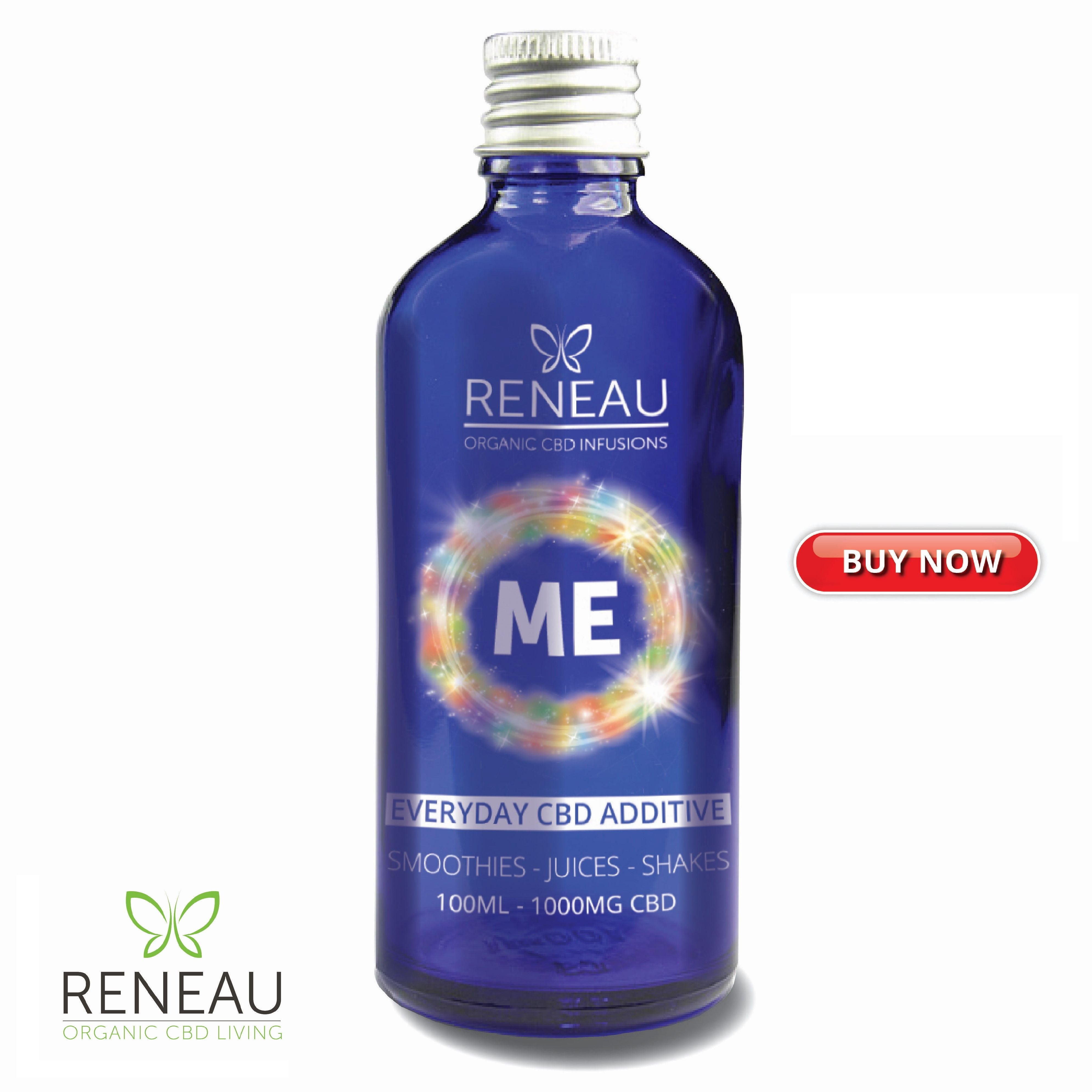 Product Image _press to buy now of Reneau ME | Everyday CBD Additive | Organic CBD Infusions | CBD Smoothies | CBD Juices | CBD Shakes | Natural Organic Pure Clean CBD Oils