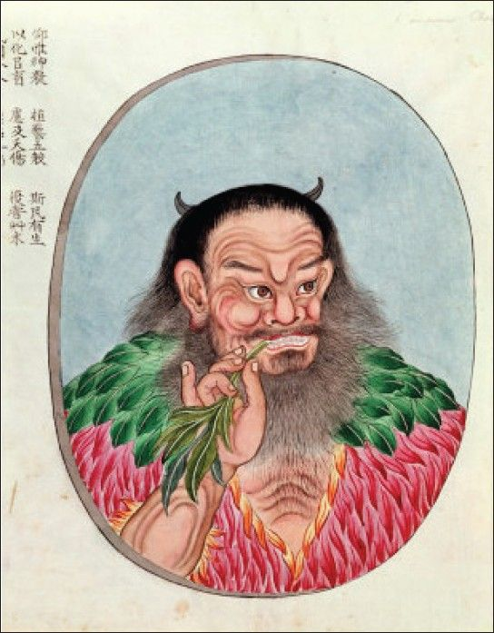 Emperor Shen Neng of China | first used cannabis in china | natural organic pure clean CBD oil