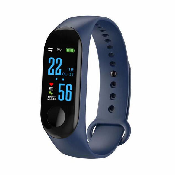 Fitness Smart Bracelet (Waterproof, Heart rate monitor)