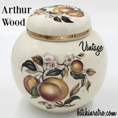 Arthur Wood Ginger Jar at bitchinretro.com