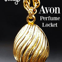 1968 Avon Perfume Locket @ bitchinretro.com
