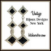 Bijoux Designs New York Art Deco Earrings at bitchinretro.com