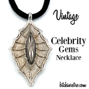 Celebrity Gems Vintage Necklace at bitchinretro.com