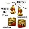 Disney Winnie the Pooh Double Earring Set at bitchinretro.com
