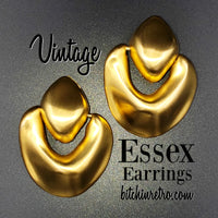 Essex Vintage Door Knocker Earrings at bitchinretro.com