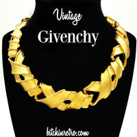 Vintage Givenchy Necklace at bitchinretro.com