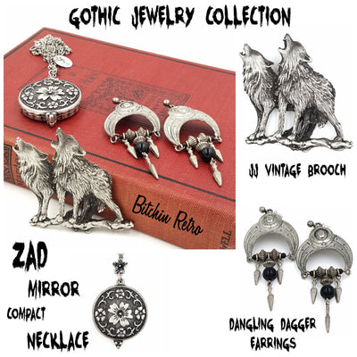 Gothic Jewelry Collection at bitchinretro.com