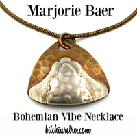 Marjorie Baer Bohemian Vibe Necklace at bitchinretro.com