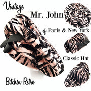 Mr John Vintage Beret Hat at bitchinretro.com