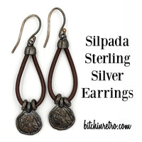 Silpada Sterling Silver Bohemian Earrings at bitchinretro.com