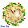Gerry's Vintage Rudolph the Red Nosed Reindeer Brooch