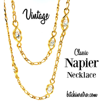 Vintage and Classic Napier Necklace at bitchinretro.com