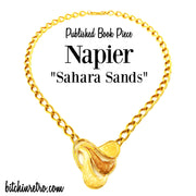 Napier Sahara Sands Published Book Piece at bitchinretro.com