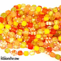 West Germany Beaded Necklace at bitchinretro.com