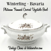 Winterling Bavaria Covered Vegetable Bowl at bitchinretro.com