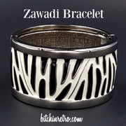 Zawadi Animal Print Bracelet at bitchinretro.com