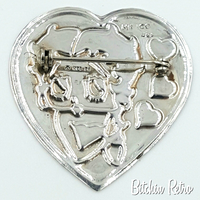 Betty Boop Vintage Sterling Silver Brooch at bitchinretro.com
