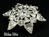Monet Rhinestone Brooch at bitchinretro.com