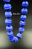 Artisan Glass Bead Necklace at bitchinretro.com
