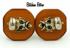 Vintage Swank Cufflinks With Mid Century Retro Vibe at bitchinretro.com