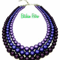 Kissaka Vintage Necklace at bitchinretro.com