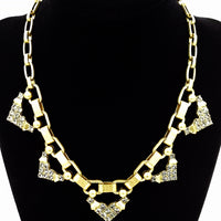 Stella Dot Rhinestone Statement Necklace at bitchinretro.com