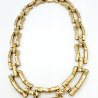 Banana Republic Bamboo Chain Link Necklace at bitchinretro.com