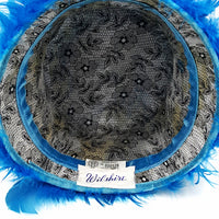 Wilshire Vintage Feather Hat at bitchinretro.com