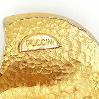 Puccini Vintage Modernist Brooch at bitchinretro.com