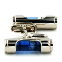 Carpenter's Level Cufflinks With Adjusting Bubble - Great Gift Idea