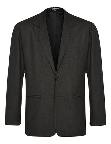 Black Non Crush Linen Jacket