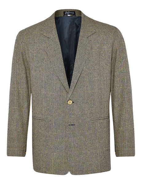 Quokka Micro-Houndstooth Check Jacket