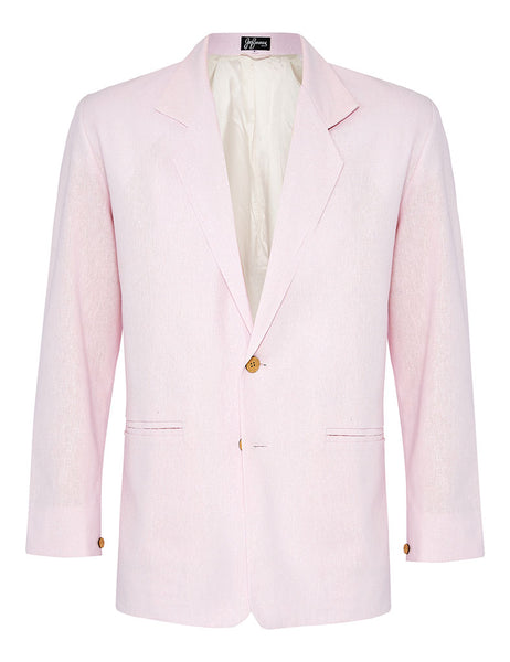 Marshmallow Linen Jacket