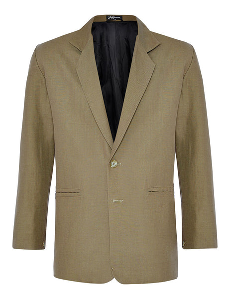 Walnut Linen Jacket