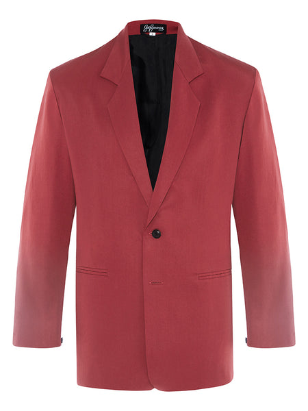 Newport Yacht Club Red Silk Twill Jacket