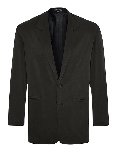 Black Silk Twill Jacket