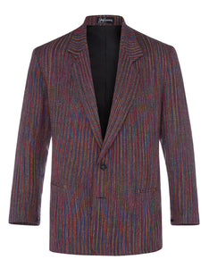 Black Opal Herringbone Jacket