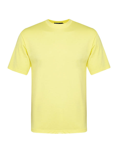 Butter Yellow Joe Neck T-shirt