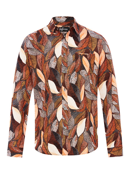 Bennelong's Brass Silk L/S Shirt